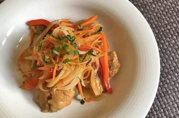 pesce fritto marinato nanbanzuke
