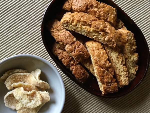 biscotti con zenzero candito