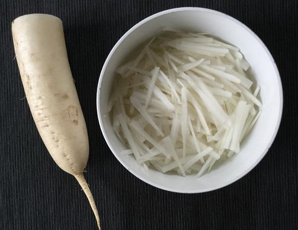 daikon per insalata