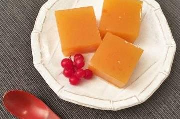 gelatina di cachi con agar agar