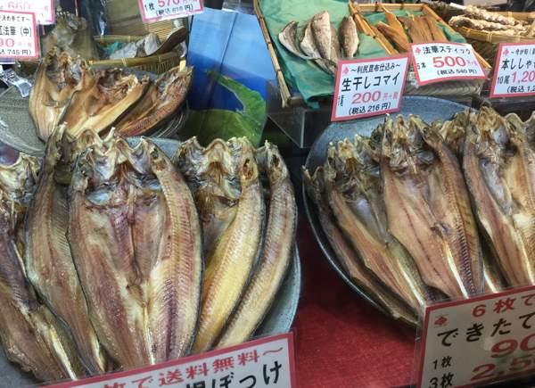 Himono di pesce