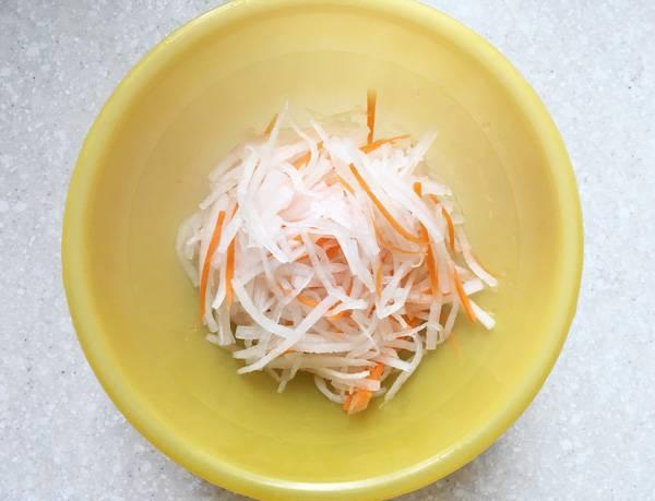 daikon e carota