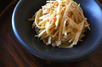 insalata di patata croccante
