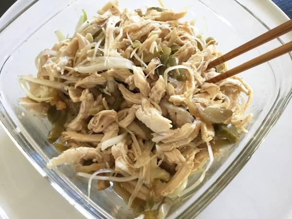 insalata di pollo con zhacai