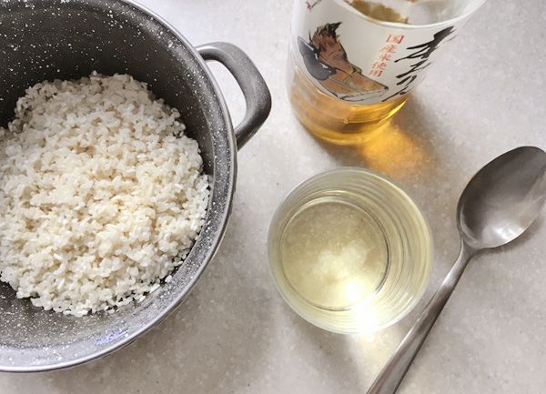 Riso bollito con le castagne (Kurigohan)