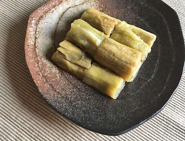 melanzane arrostite yakinasu