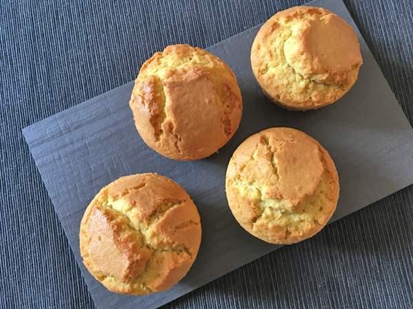 muffin di riso con miglio