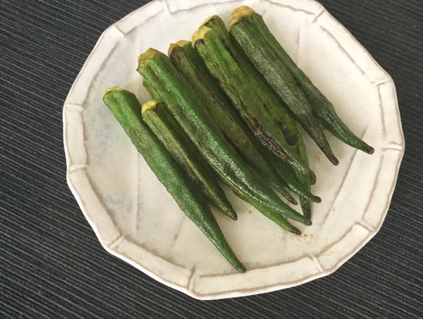 okra saltato in padella alla salsa di soia