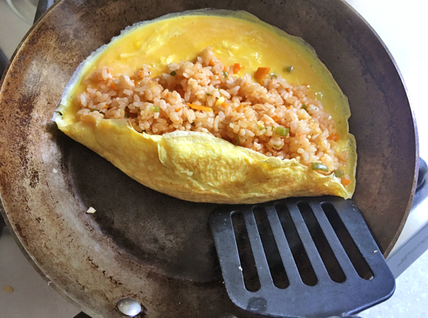 ricetta di omu rice