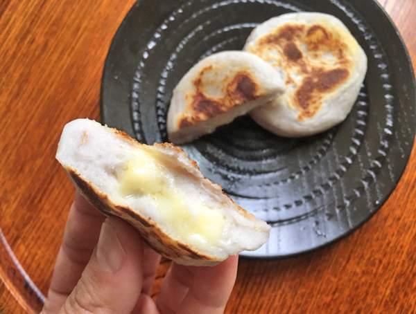 polpette di taro con formaggio