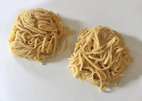 Tagliolini grossi da ramen (Chukamen)