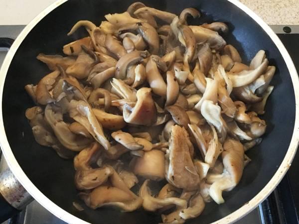Riso bollito ai funghi