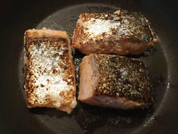 Salmone marinato al shio koji