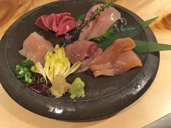 Sashimi di rigaglie