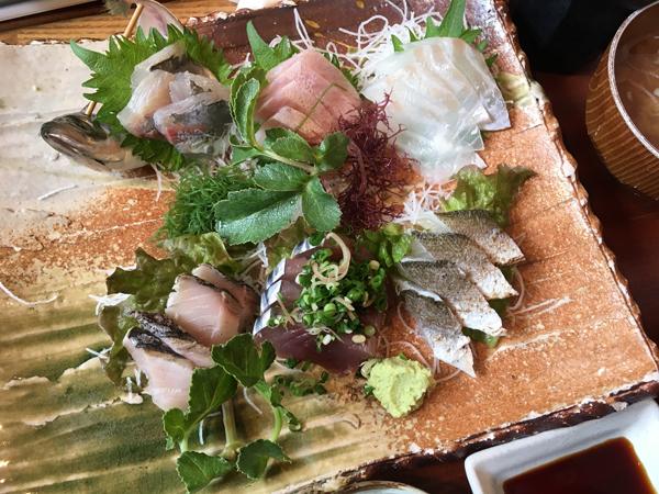 Sashimi di pesce vari