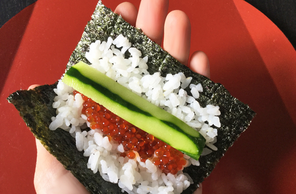 Temaki zushi