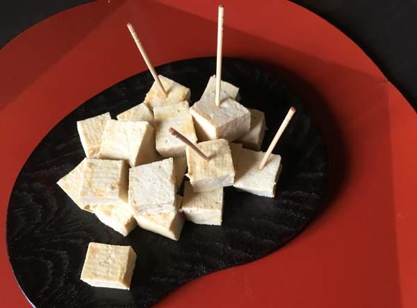 tofu marinato al miso