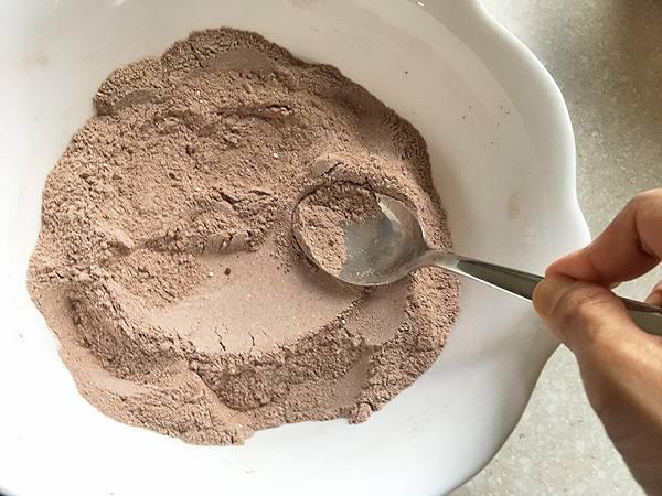 ricetta di torta con farina di riso e cacao