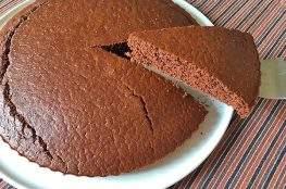 torta con farina di riso e cacao