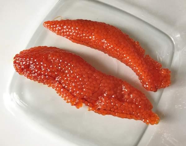 ricetta di uova di pesce marinate ikura