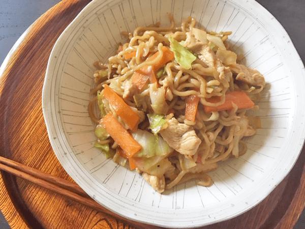spaghetti saltati yakisoba