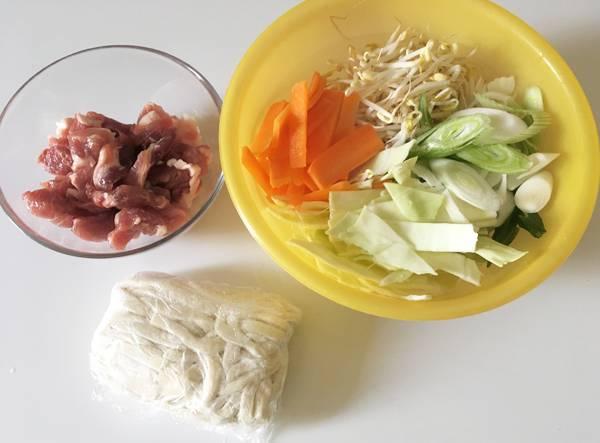 ricetta di udon saltati yakiudon