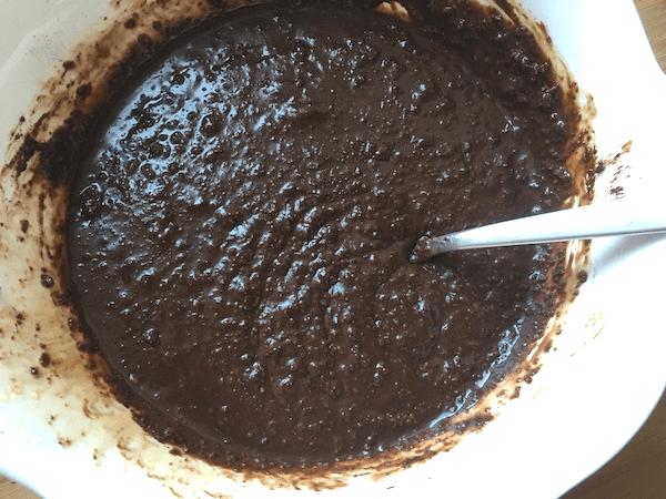 torta al cioccolato con okara