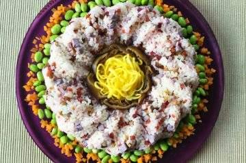 torta di riso sushi
