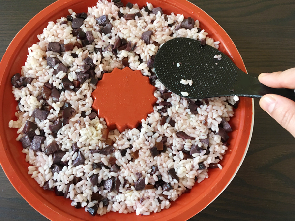 ricetta di torta di riso sushi