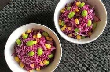 insalata di cavolo rosso allo yogurt