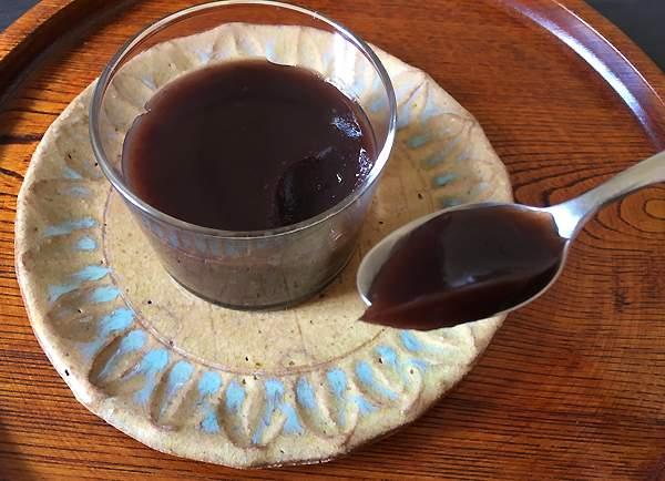 ricetta di mizu yokan dolce con gli azuki