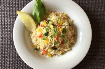 riso saltato alla salsa di pesce
