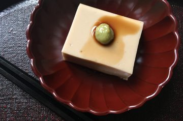 tofu di sesamo goma dofu