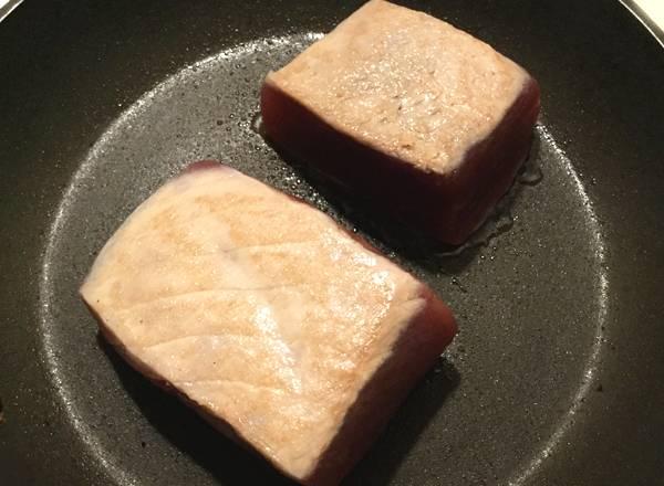 ricetta di tonno scottato