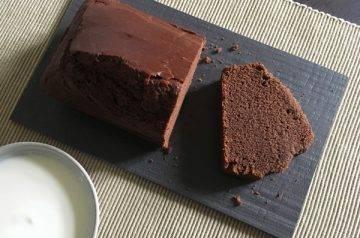 torta allo yogurt con farina di riso e cacao
