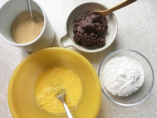 ricetta di dorayaki con farina di riso