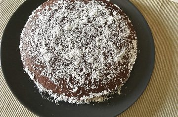 torta al cacao con farina di riso e cocco