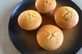 cupcakes con avanzi di polenta