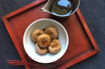 gnocchi di riso al caffe con noci