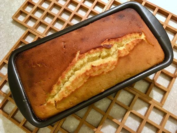 plumcake con farina di riso e uvetta al rum