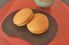 kokuto dorayaki con crema di zucca