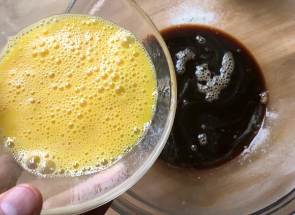 muffin di grano saraceno al caffe