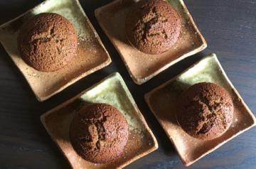 muffin con grano saraceno e caffe