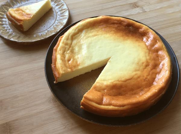 cheesecake cotto con farina di riso