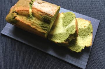 torta marmorizzata al te' verde matcha