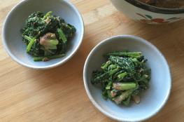 gomaae di spinaci
