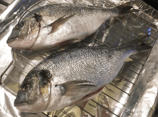 pesce arrosto al forno