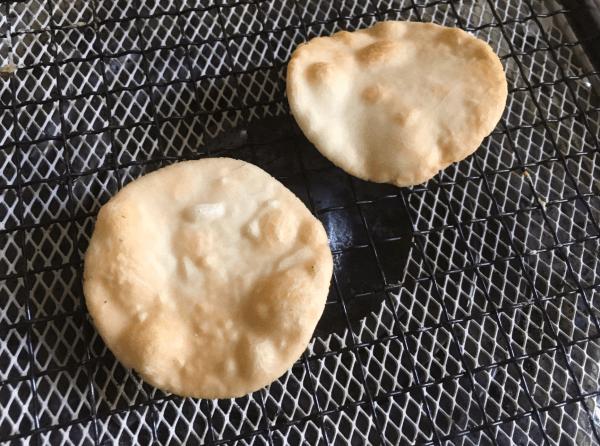 cracker con farina di riso arrostiti alla salsa di soia