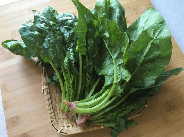 spinaci ai semi di sesamo
