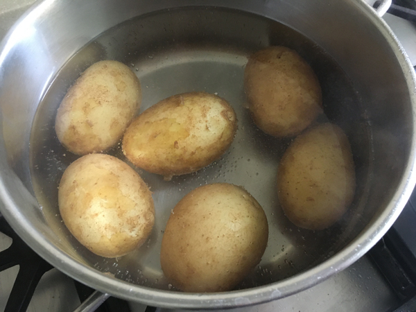 lessare le patate